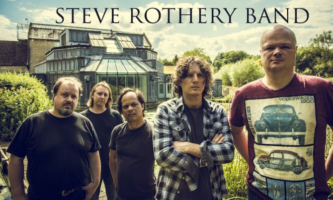 Steve Rothery Band website