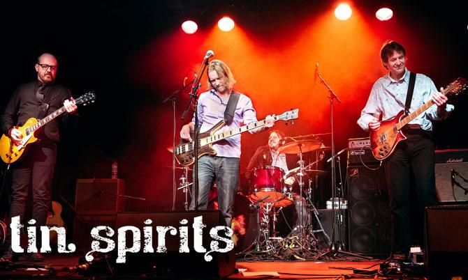 Tin Spirits website